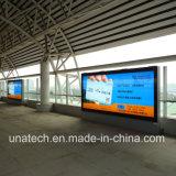 Outdoor Channel Indoor Metro Subway Banner Fabric Advertising Aluminium LED Box Structure