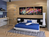 Canvas Stretched Oil Painting Abstrct Art for Hotel
