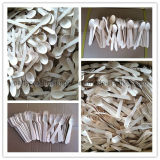 Eco-Friendly Wooden Spoons, Forks, Knives for Baby Shower, Christmas Party