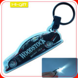 Custom Full Color Printed LED Keychain