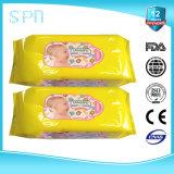 New Alcohol Free Vitamin E Flushable Baby Wipes