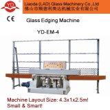 Hot Selling 4 Wheels Glass Straight Line Edging Machine