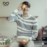 ODM Stripped Fashion Knit Man Pullover Sweater
