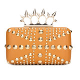 Lady Fashion Leather Studs Evening Clutch Bags (MBL005)