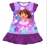 Children Clothing Nighties Kids Sleeping Gown with Various Models and Colors