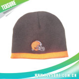 Classic Style Basic Knitted/Knit Winter Cap/Hat with Embroidery (019)