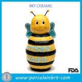 Adorable Home Kitchenware Bee Shape Honey Jar