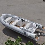 Liya 4.3m Fiberglass Inflatable Boat with Motor Sale