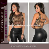 Sexy Women Leopard Lady Club Tops