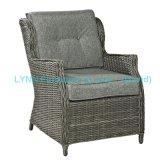 Outdoor Hotel Armchair Round Rattan Sofa Chair