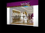 Ladies Garment Shopfront Display with Display Stand, Garment Rack