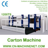 Zj-1200ts Automatic Flatbed Die Cutting Carton Machine