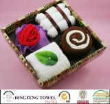 2016 New Season Design Wedding Cake Gift Towel Sets Df-2875