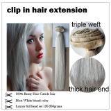 Cheap 100% Brazilian Human Hair Clip in Hair Extension