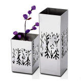 Home Table Decoration Metal Color Stainless Steel Flower Vase