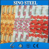 Four Color Painting Coated Tinplate Steel Coil