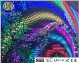 Fireproof Velvet P18 LED Vision Curtain RGB Video Curtain for DJ Booth Disco Club Stage Show