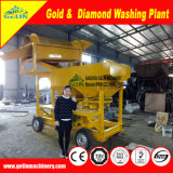 High Recovery Rate Clay Deposit Mobile Type Diamond Concentration Washing Plant