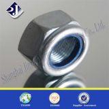 Hex Nylon Nut DIN985 with Galvanizing Zinc