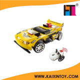 89PCS DIY 4CH Infrared Control Building Blocks Racing Car for Kids