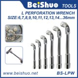 L Perforation Wrench with Hole for Car Repairing