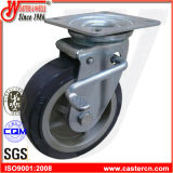 Wanda Medium Duty Total Brake Caster, PU Wheel