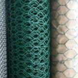 Green PVC Coated Hexagonal Wire Netting