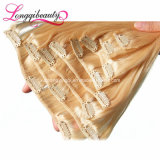 Wholesale Remy 100% Virgin Brazilian Clip in Human Hair Extensions