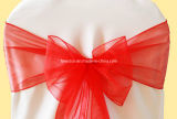 "Party Favor Sheer Organza / Satin Sash for Chair Cover (7"" X 105"")"