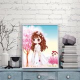 Factory Direct Wholesale Children DIY Crystal Oil Painting Photo Frame FK-029