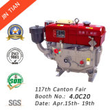 Water Cooled Single Cylinder Diesel Engine with CE Approved (R180)
