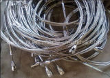 7x7-6.0mm Stainless Steel Wire Rope (with Lock nuts)