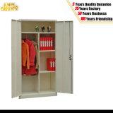 Metal Cupboard with Two Door Hanger Steel Locker as-006