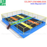 6 in 1 Trampoline Bed, Small Trampoline Park (BJ-BU16)