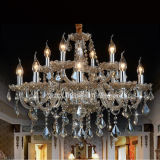 European Style Crystal Chandelier (S8330-12) in Brown for Hotel