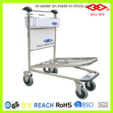 Stainless Steel Luggage Trolley for Airport (GJ1-300)