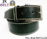 Men′s Black PU Pin Buckle Belt Jx-M0001