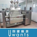 Full Automatic Horizontal Cooking Pot by Gas Heating Way