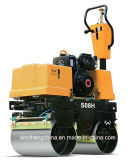 Mini Compactor Double Drum Vibratory Road Roller From China Jms08h