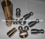 CNC Machining van Turned Parts voor Brass Bushes en Aluminum Shaft
