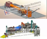 China High Capacity Silica Rotary Dryer Machine Manufacture Supplier