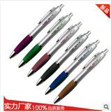 Plastic Ball Pen, Custom Plastic Pen, Click Type Ball Pen