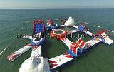 Inflatable Water Games / Giant Inflatable Floating Aqua Park / Water Park Inflatable Construction