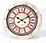 American Coutry Style Metal Wall Clock