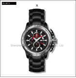 High Level Automatic Swiss Watch Sport Silicone Watch Men′s Wrist Watch