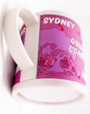 3D Custom Cartoon Plastic Drinking Cup (MK-1023-104)