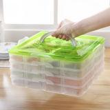 Portable Buckle Lid Dumpling Box, New Designed Dumpling Storage Box