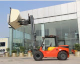 2.5ton Automatic Diesel Forklift Truck with Snow Bucket Pallet Fork