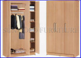 Simple Modern Wooden Wardrobe with 3 Door (SZ-WD056)