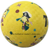 Pg8.7 Rubber Playground Ball for Promotional